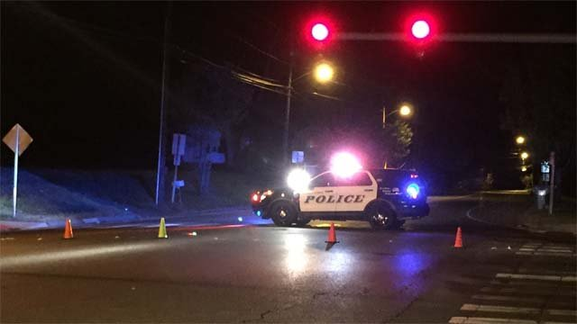 Serious crash closed Newfield Street on Thursday evening (WFSB)