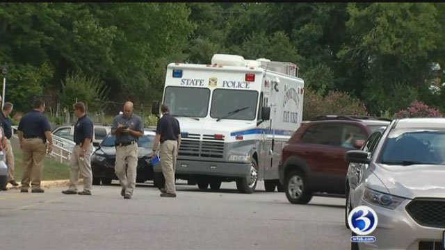 Connecticut State Police have identified the man who was found dead in an apartment complex in Willimantic on Wednesday morning.  (WFSB file photo)