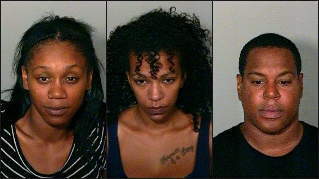 Rachel Garcia, Domonique Shankle and Joseph Mendoza were charged with 1st degree assault (New London PD)