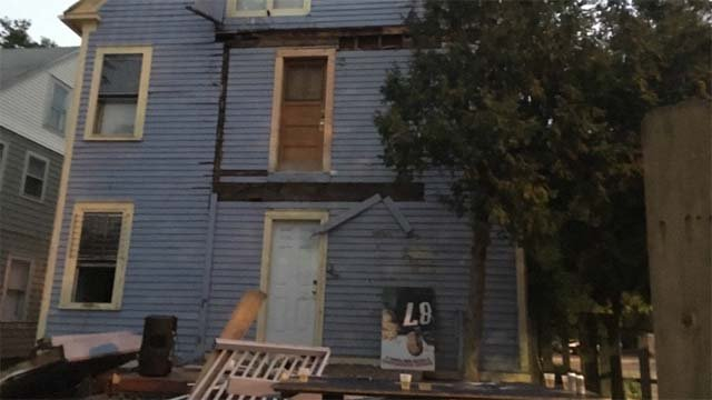 More than 30 people were injured in Hartford after a deck collapsed (WFSB)