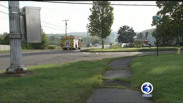 Area of Randolph Road and Lee Street in Middletown (WFSB)
