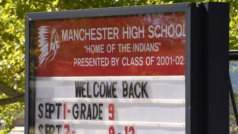 Manchester High School. (WFSB photo)