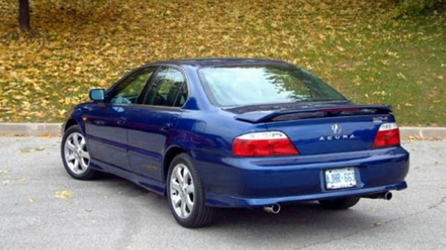 State police said they are looking for a Honda or Acura like this vehicle. (State police photo)