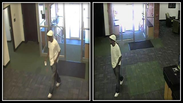 Police in New Britain are searching for a man accused of robbing the TD Bank. (New Britain Police)