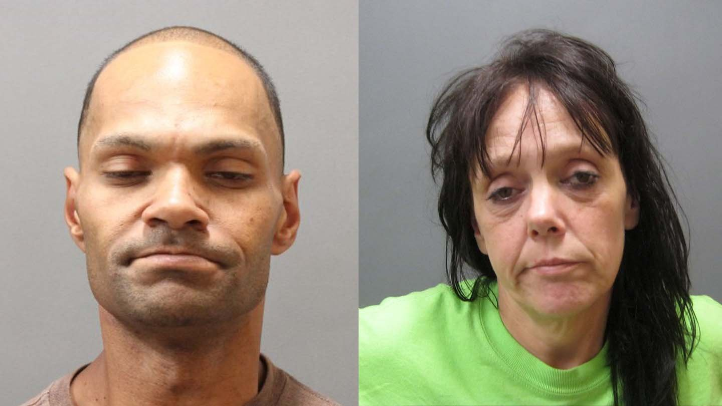 Randy Valade and Gina Mineau. (Plainfield police photos)