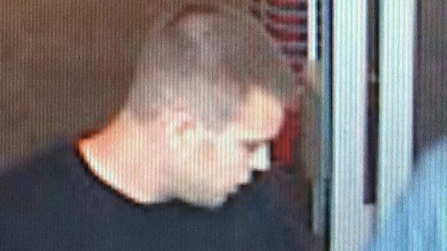 Torrington police are hoping the public can identify this man after a Famous Footwear robbery. (Torrington police photo)