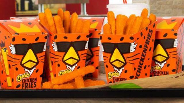 Cheetos Chicken Fries. (Burger King Facebook photo)