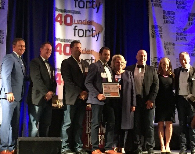 Hartford Business Journal's 40 Under Forty Awards were held Wednesday night (WFSB)
