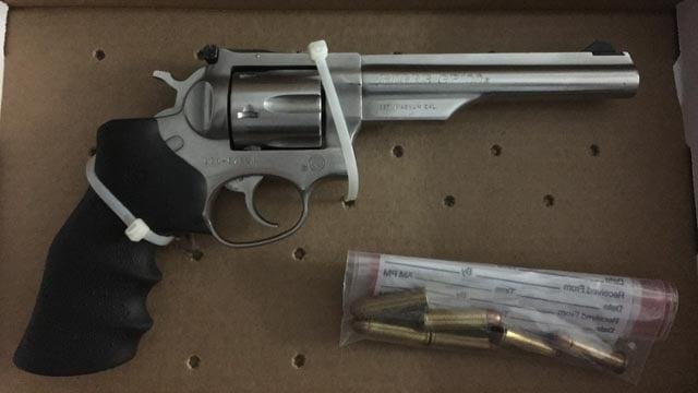 Ruger GP100 .357 Magnum Revolver. (Hartford police photo)