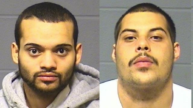 Ranald Colman and Miguel Rivera. (Hartford police photos)