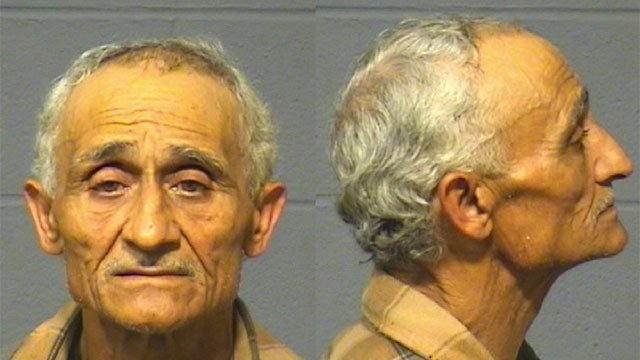Rafael Sanchez was charged with stealing an historic bronze crest from the Samuel Colt Monument in Hartford. (Hartford Police Department)