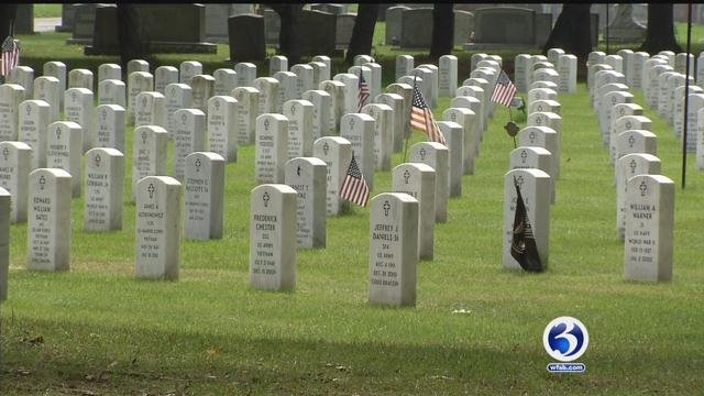 The I-Team looked into burglaries that happened at the State Veteran's Cemetery (WFSB)