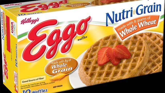 Kellogg's Eggo Nutri-Grain Whole Wheat Waffles (Kellogg's)