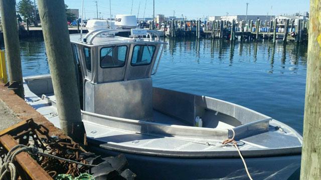 Authorities said this boat belonged to Linda Carmen. (Coast Guard)
