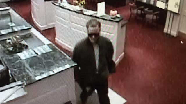 Suffield police say this man is wanted in an armed bank robbery (Suffield Police Dept.)