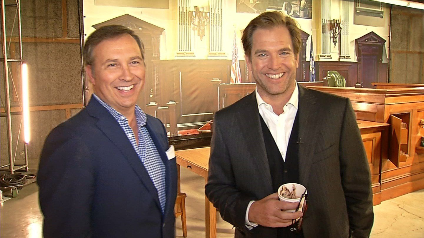 Dennis House and Michael Weatherly (WFSB)