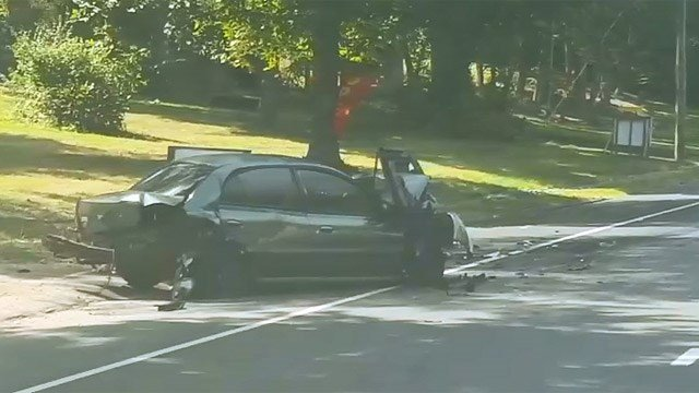 A serious crash closed Route 6 in Andover. (iWitness photo)