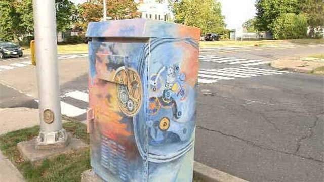 Traffic box art may be banned in Bristol (WFSB)