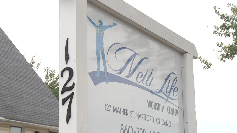 New Life Church in Hartford. (WFSB photo)