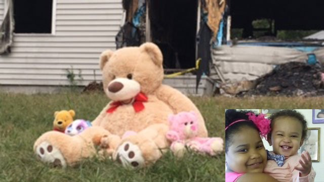 Bella Lawyea and her 18-month-old brother. (WFSB/GoFundMe photo)
