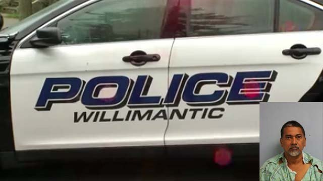 Angel Mendez Alvarez was charged in a domestic dispute (WFSB/Willimantic police)
