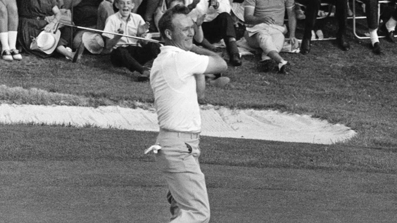 Arnold Palmer. (CBS photo)