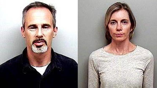 Michael and Jennifer Thalmann. (Newington police photos)