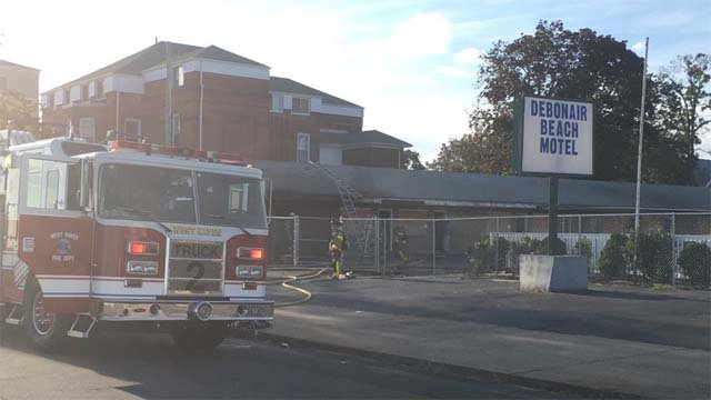 A fire at an abandoned motel has been ruled suspicious. (WFSB)