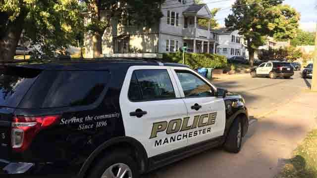 Police are investigating the armed robbery on School Street. (WFSB)