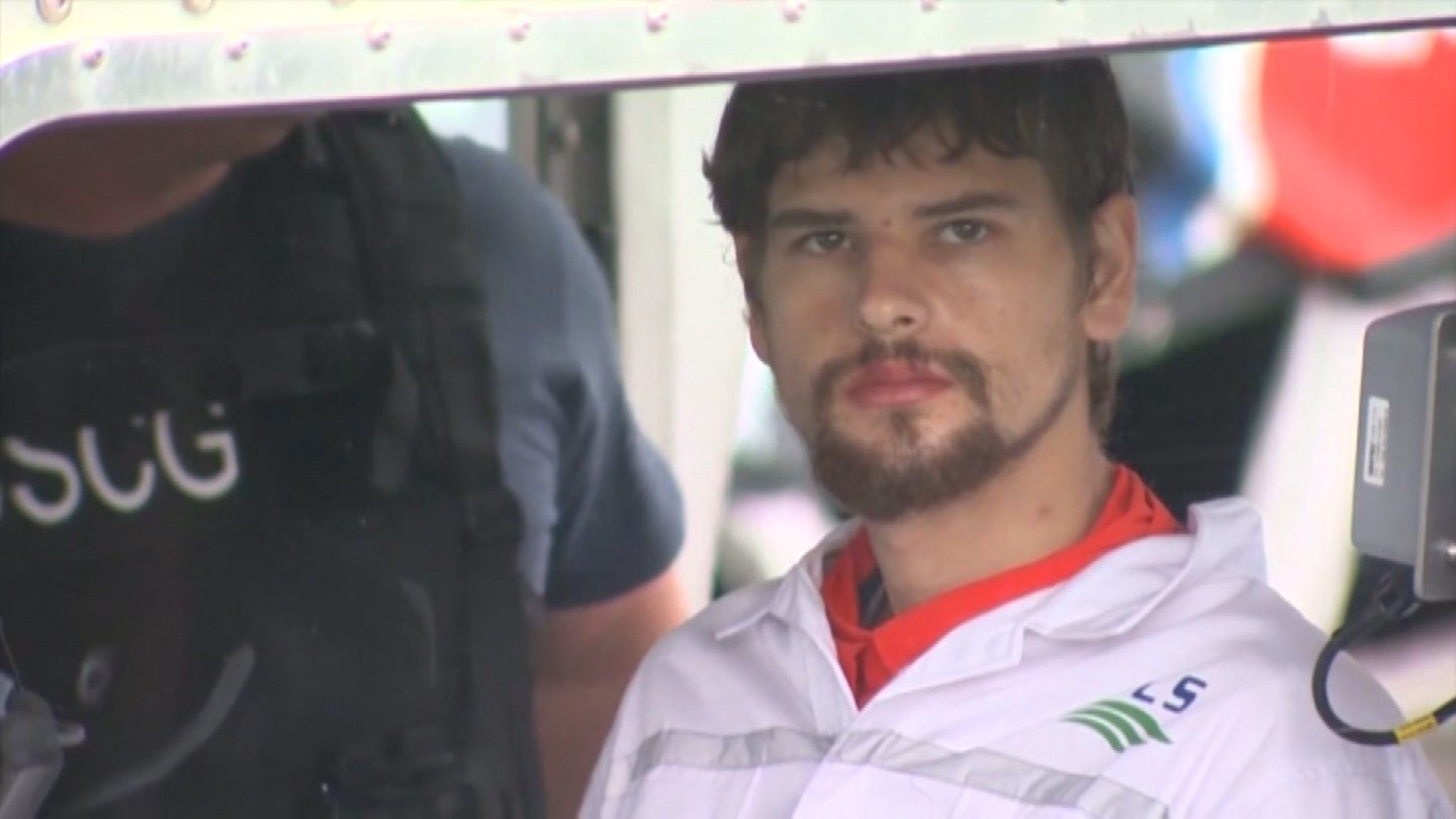 "Nathan Carman accused by family members of killing his millionaire grandfather and possibly his mother said several of his relatives are ""being driven by malice and greed"" and are spreading lies about him. (CNN photo)"