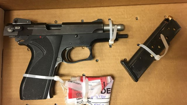 One of the weapons seized by police after a pursuit. (Hartford Police Department)