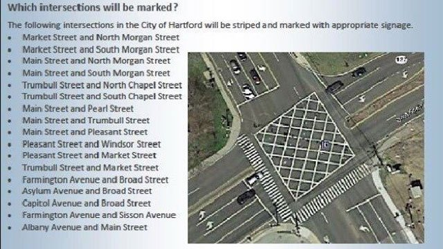 Drivers are being warned to block intersections in Hartford. (@MayorBronin)