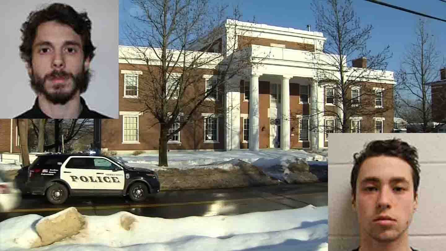 Eric Lonergan (left) and Zachary Kramer (right). (Middletown police/WFSB photos)