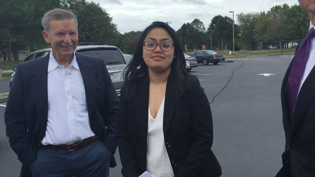 Panna Krom was released from prison on Friday. (WFSB photo)