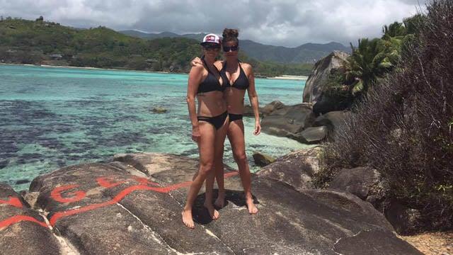 Robin Korkki and Annie Korkki. (Facebook photo)