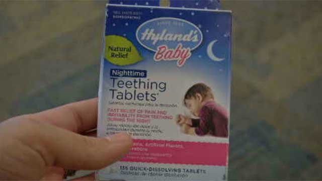 The FDA is warning about teething tablets and gels for children and infants (WFSB)