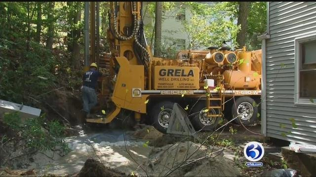 Many who have wells are seeing them dry up as the state is in a drought (WFSB)