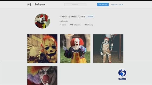 The director of school security in New Haven is asking principals to ban all clown costumes for Halloween (WFSB)