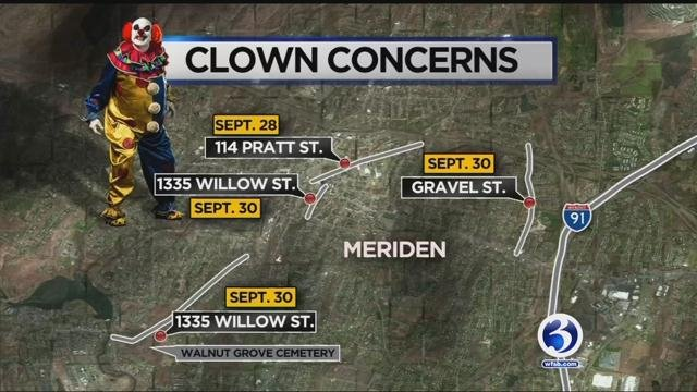 Some of the alleged sightings have turned out to be nothing, but in Meriden, police are investigating at least five cases. (WFSB)