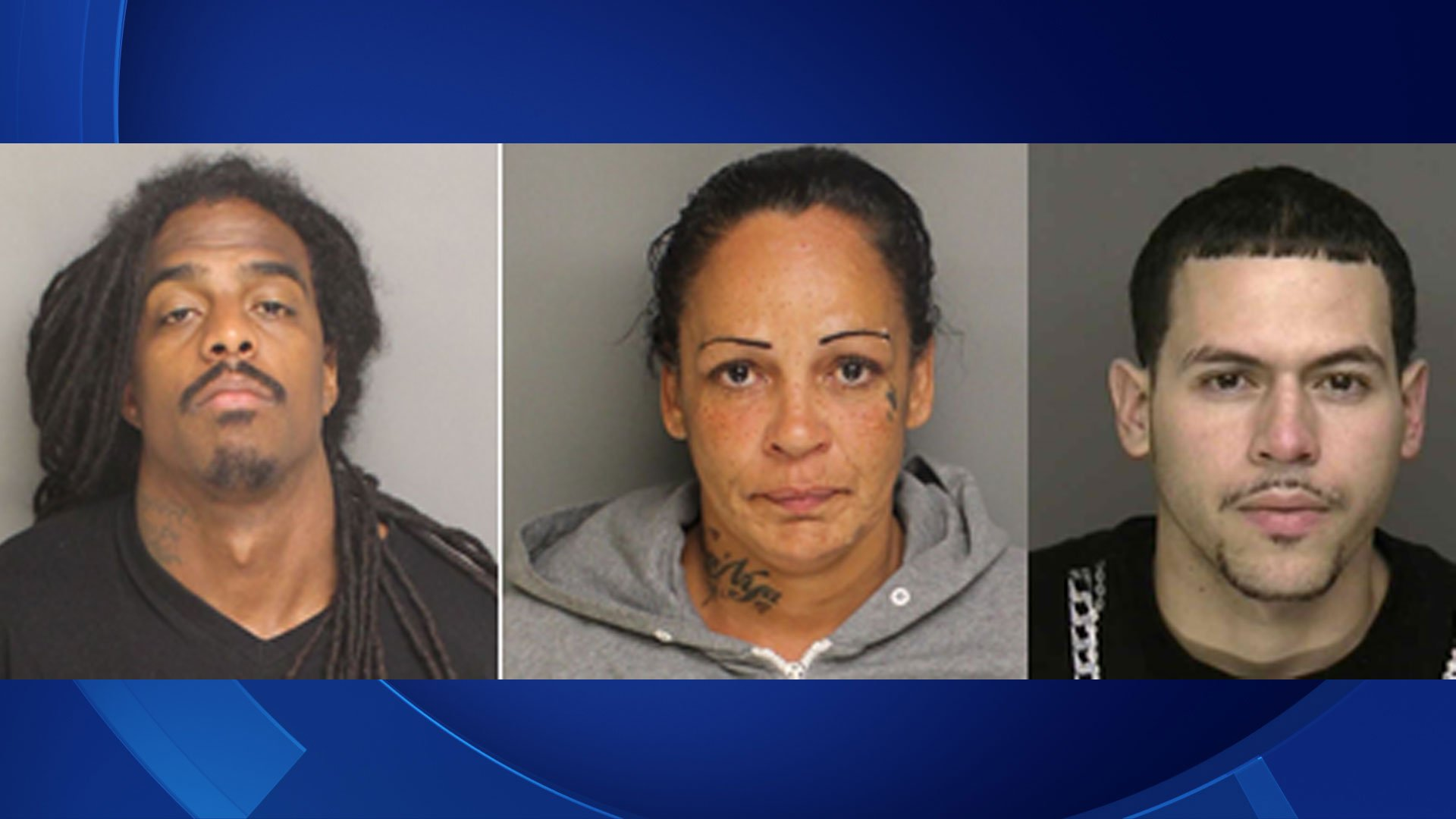 Three arrested in death of  Edy Morales. (Bridgeport Police Department)