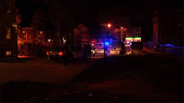 A person was shot in the leg/ankle area on Wednesday night. (WFSB)