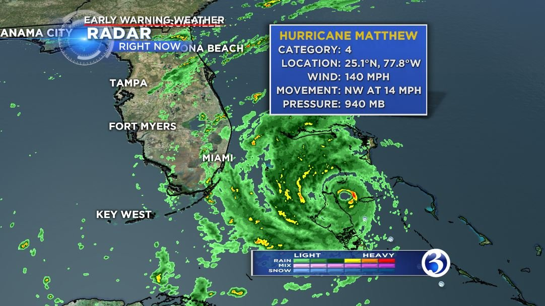 Walt Disney World closes in anticipation of Hurricane Matthew landfall