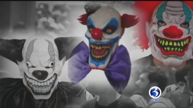 A clown sighting were made near elementary schools in Hamden and Waterbury. (WFSB)