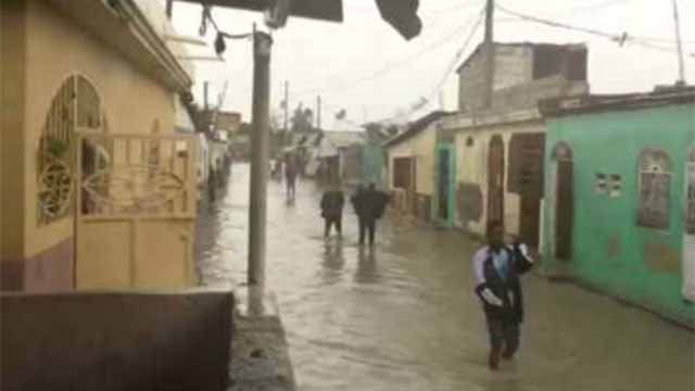 Haiti is in need of supplies as they deal with the aftermath of Hurricane Matthew (CBS Newspath)