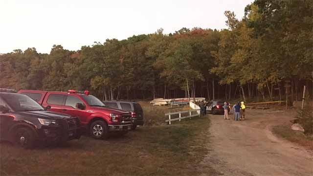 Emergency crews were called to a plane crash in Plymouth on Thursday (WFSB)