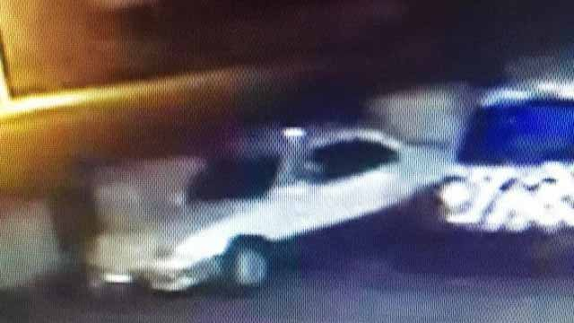 Police have obtained surveillance footage of the car leaving the scene (New Britain police)