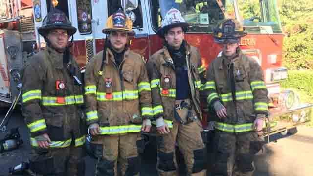 The last unit cleared the scene just after 5pm (Echo Hose Hook & Ladder Co. 1)