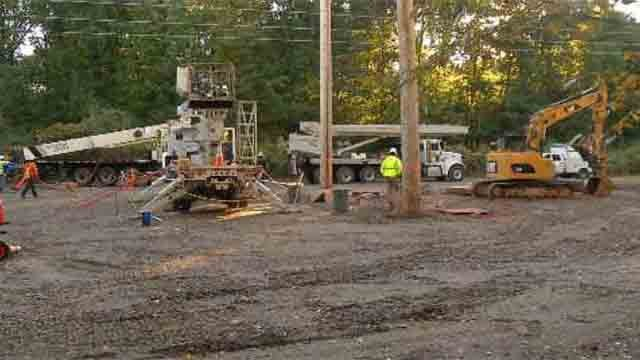 Numerous Glastonbury residents blamed Eversource Energy for cutting down trees in their neighborhood. (WFSB)