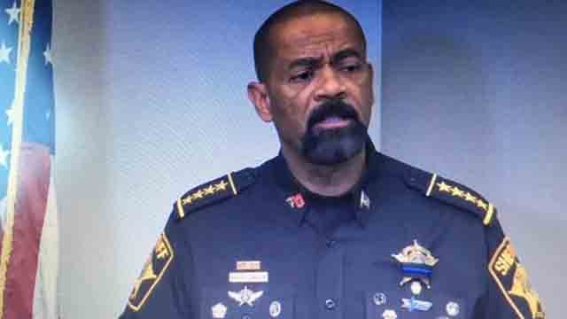Milwaukee County Sheriff David Clarke (WFSB)
