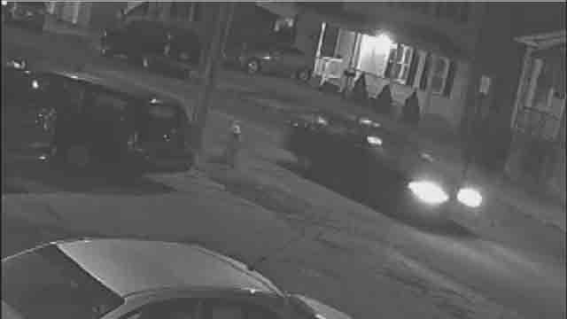 Police say this is the suspect car involved in a Friday night hit-and-run (Meriden Police)